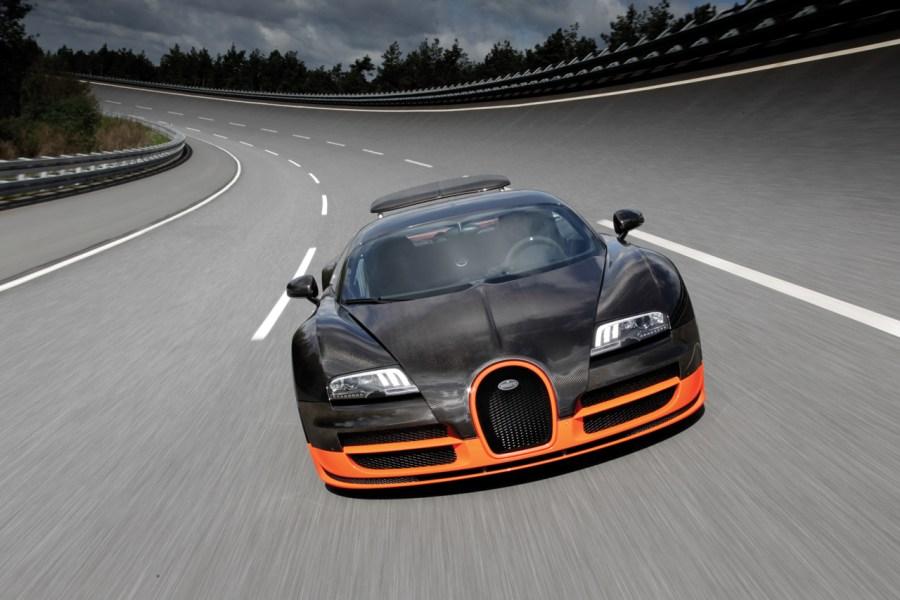 Bugatti Veyron 16 4 Super Sport Looks Ahead Picture HD Wallpaper