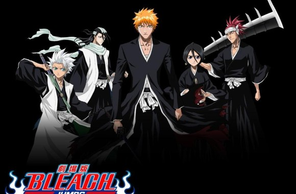 Bleach Black Background HD Wallpaper Image For PC Computer