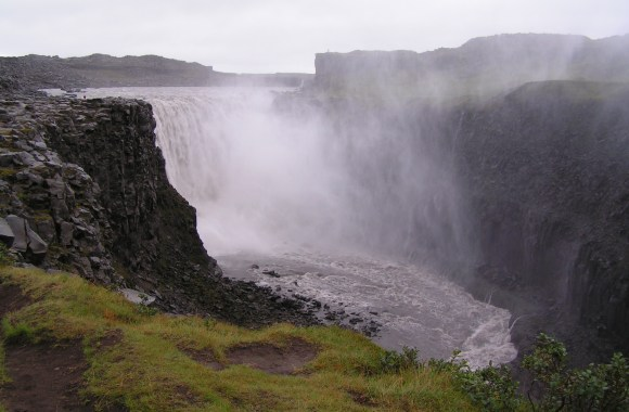 Awesome Dettifoss Waterfall Iceland Nature Picture HD Wallpaper