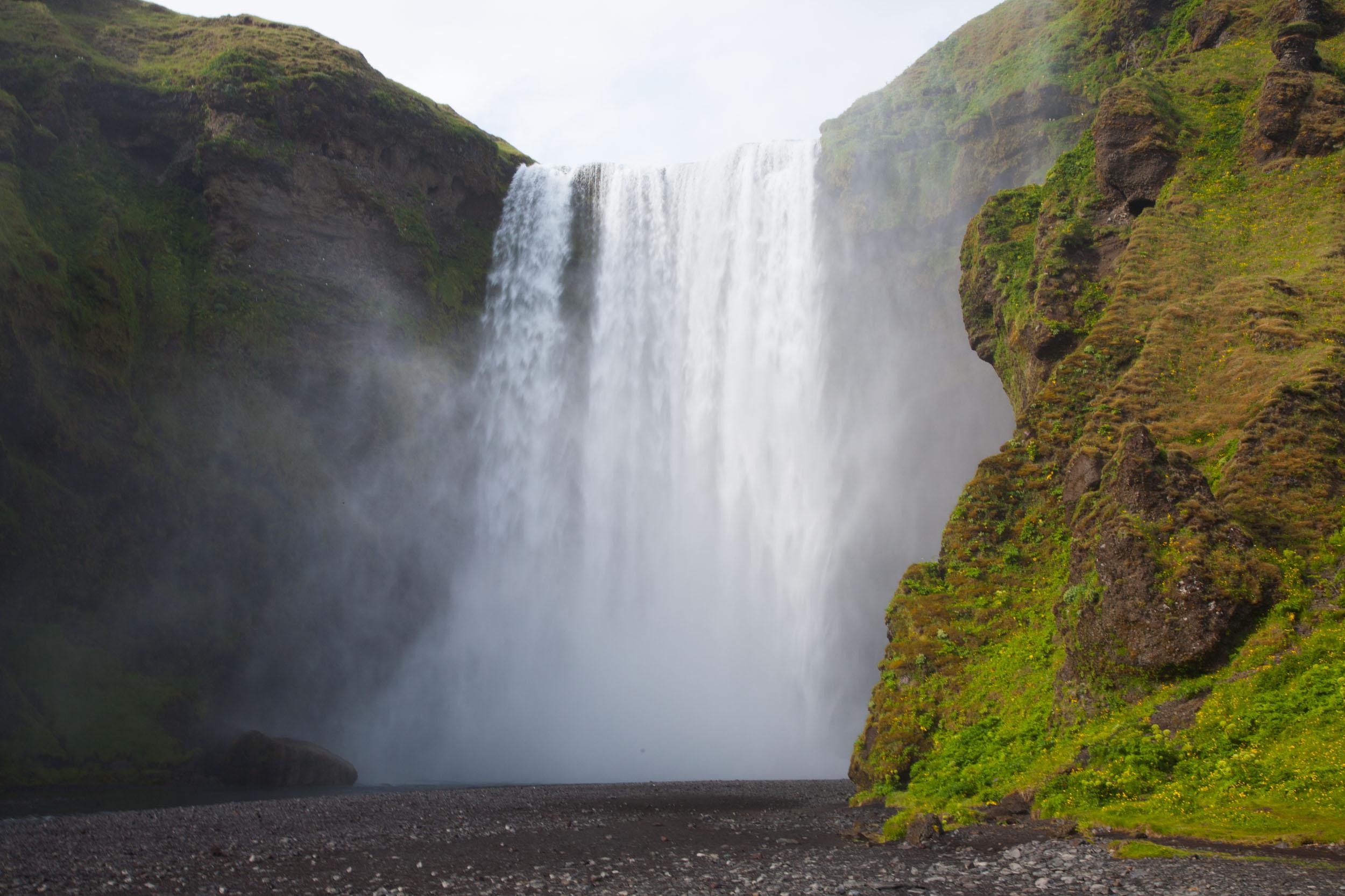 Falls Hd Wallpaper Free Download Dettifoss Waterfall In Southern Iceland Rana Banerjee