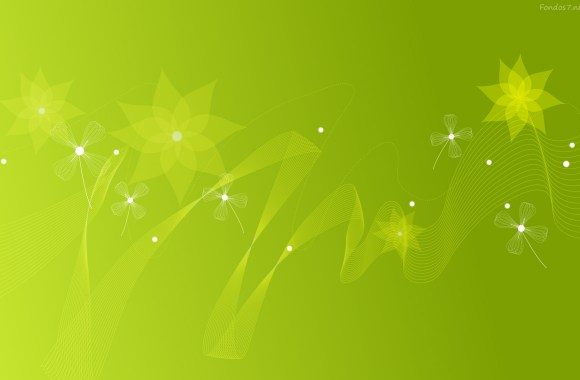 Awesome Green Best HD Wallpaper Image For PC Desktop