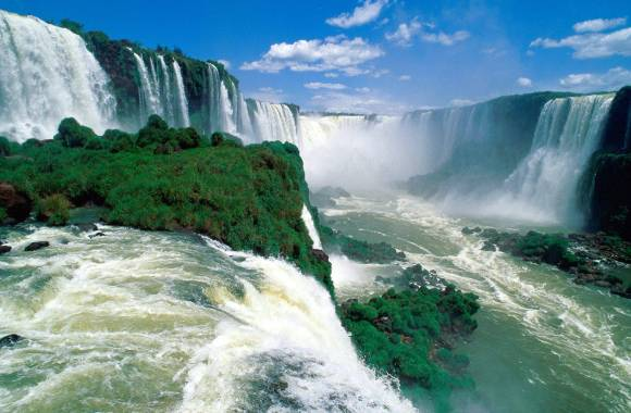 Beautiful Place To Visit Iguazu Waterfall Tour And Travel Photo Picture