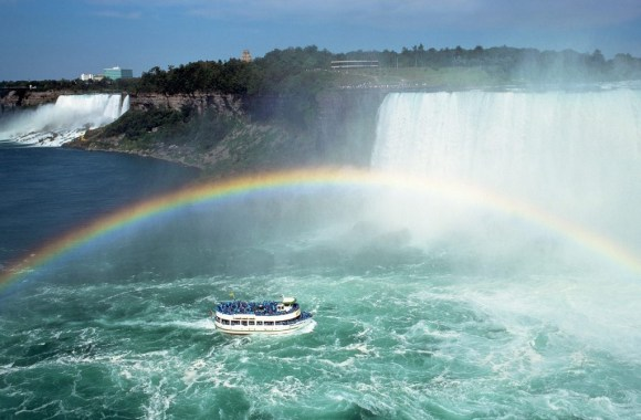 The Most Famous Waterfalls Niagara Falls Nature Picture Photo