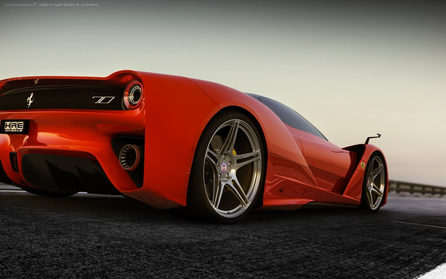 Ferrari F70 Automotive High Quality In HD Wallpaper Desktop