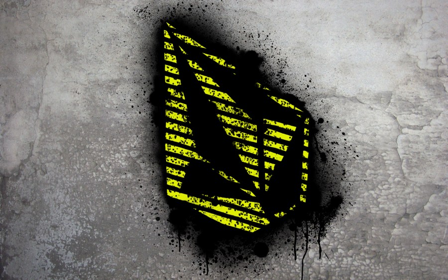 Yellow Volcom Stone Graffiti Fresh New HD Wallpaper Image Background