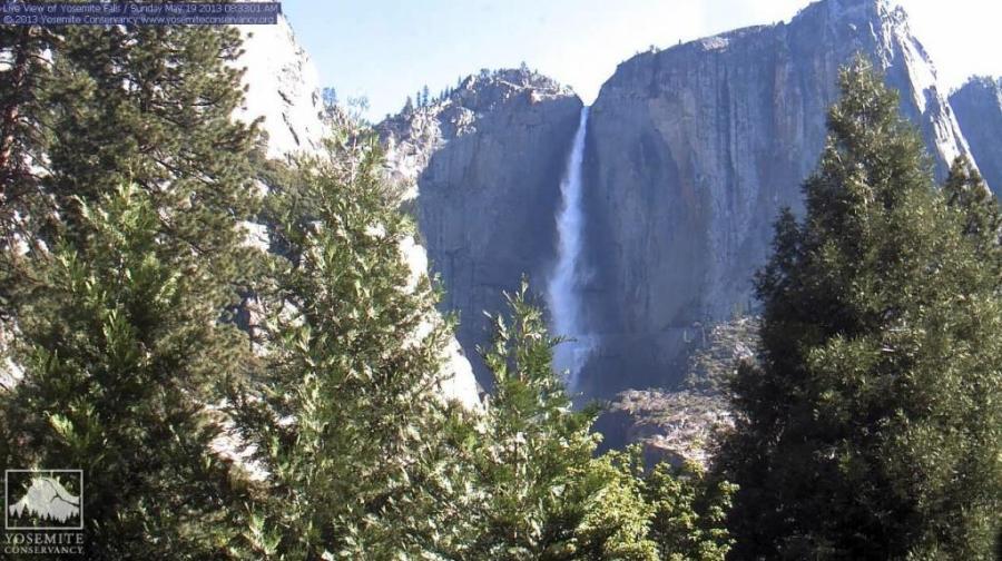 Fantastic Yosemite Waterfall Picture HD Wallpaper And Desktop