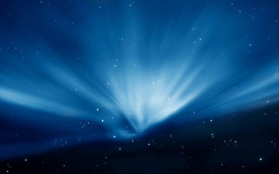 Amazing Sky Blue Aurora Best HD Wallpaper Image For PC Desktop