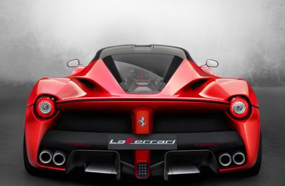 Ferrari F70 Rear HD Wallpaper Widescreen For Your PC Computer