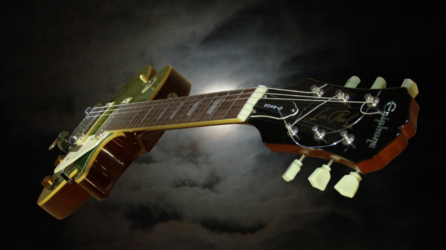 Amazing Music Gibson Les Paul Style HD Wallpaper Picture Image
