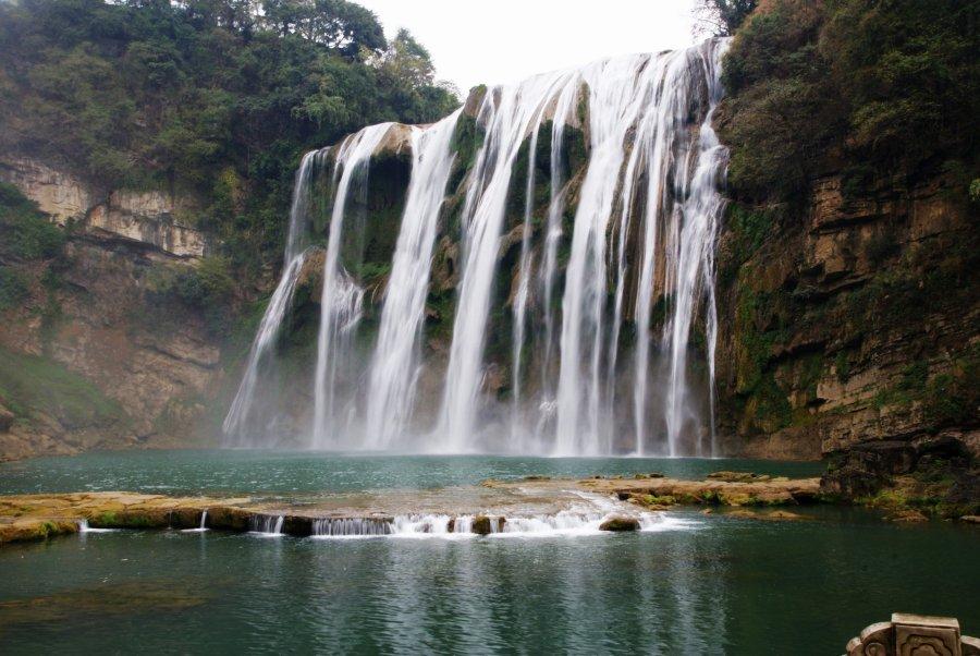 Huangguoshu Waterfall Anshun Guizhou China HD Travel Photo