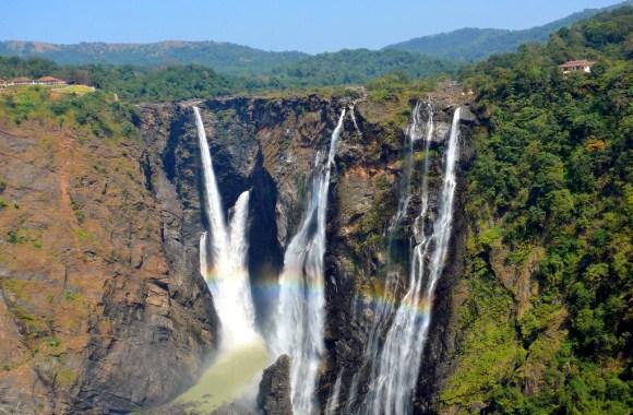 Jog Falls Karnataka India Nature HD Wallpaper Widescreen Desktop