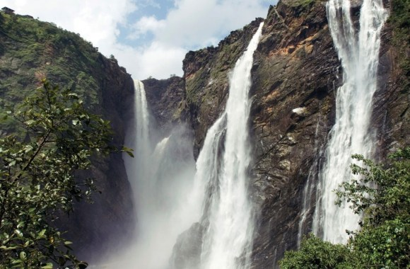Beautiful Place To Visit Jog Falls India Photo Picture Original Size