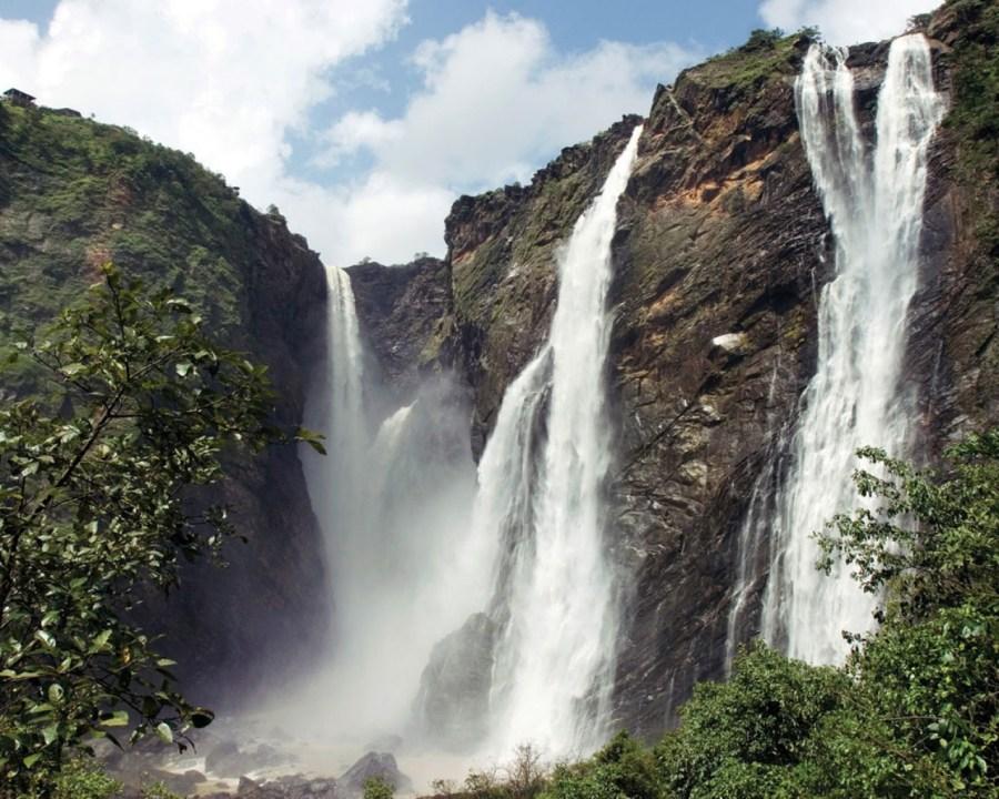 Beautiful Place To Visit Jog Falls India Photo Picture Original Size
