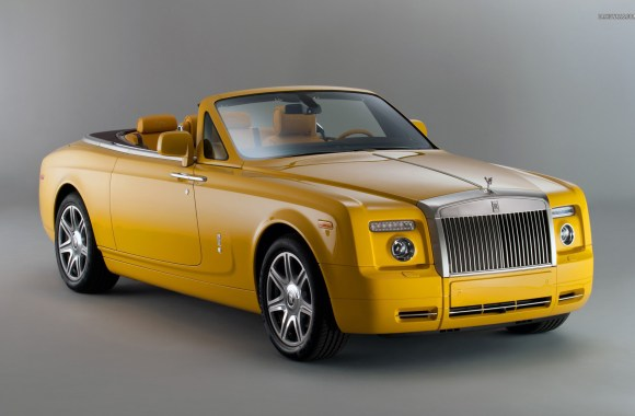 Rolls Royce Phantom Drophead Coupe HD Wallpaper Widesreen