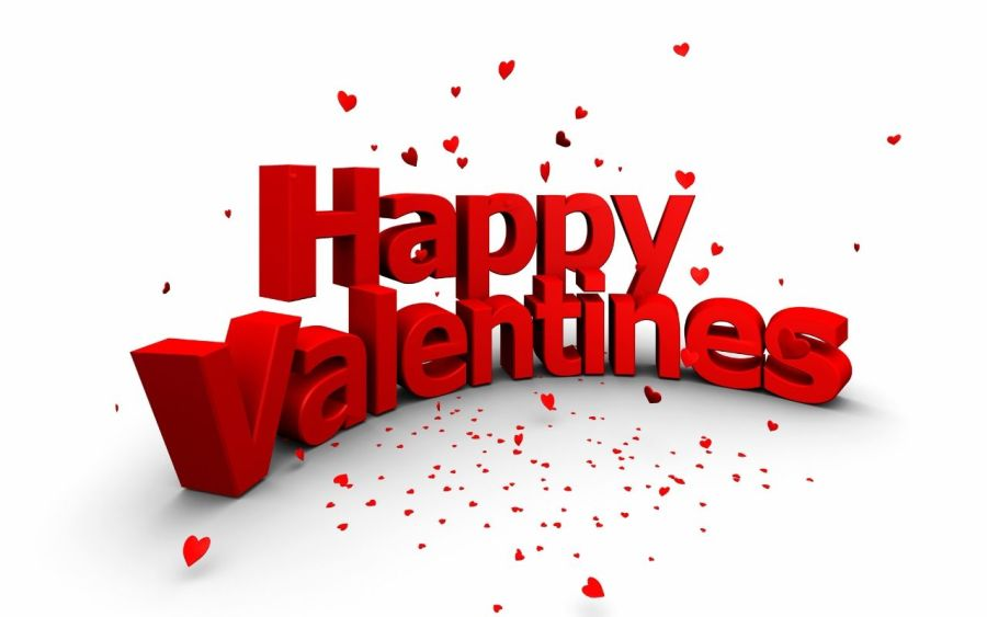 Happy Valentines Day HD Wallpaper Background Widescreen