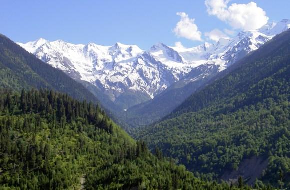 Caucasus Mountains HD Wallpaper