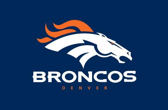 Denver Broncos Football Logo HD Wallpaper