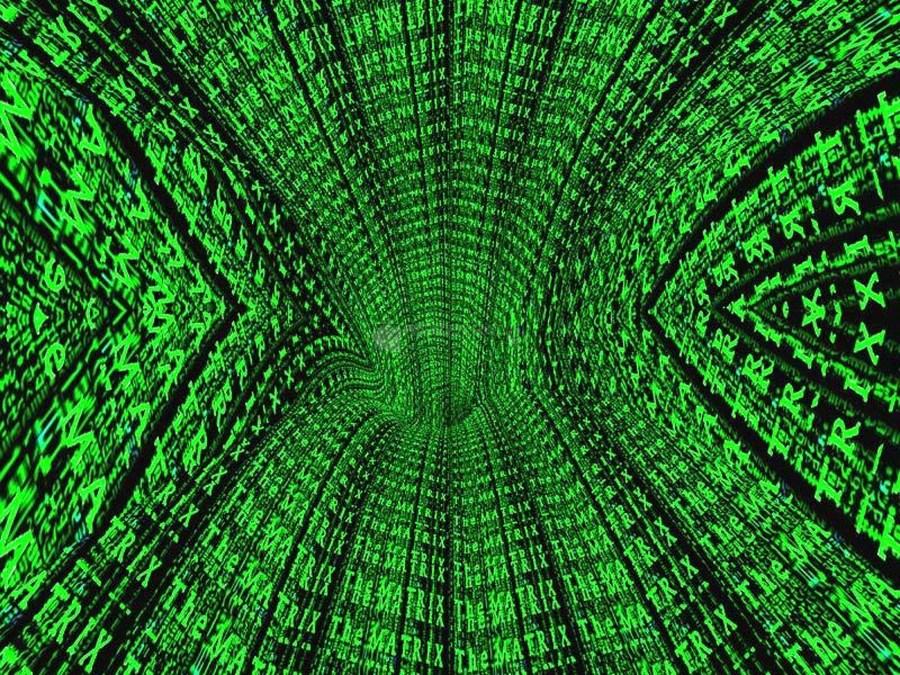 Alien Magic Matrix 3d HD Wallpaper