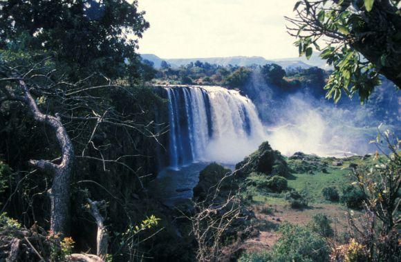 Blue Nile Falls HD Wallpaper