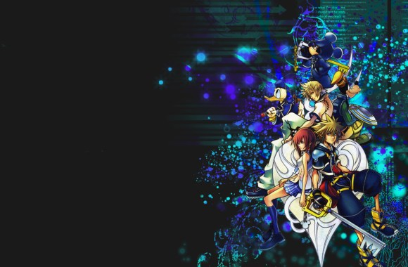 Kingdom Hearts 2.5 Remix Game HD Wallpaper