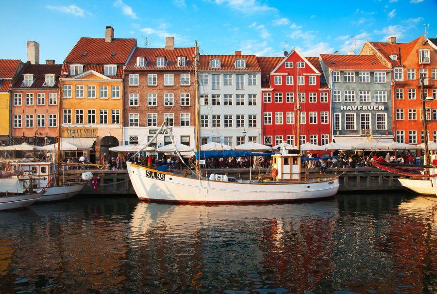 Nyhavn Promenade, Copenhagen
