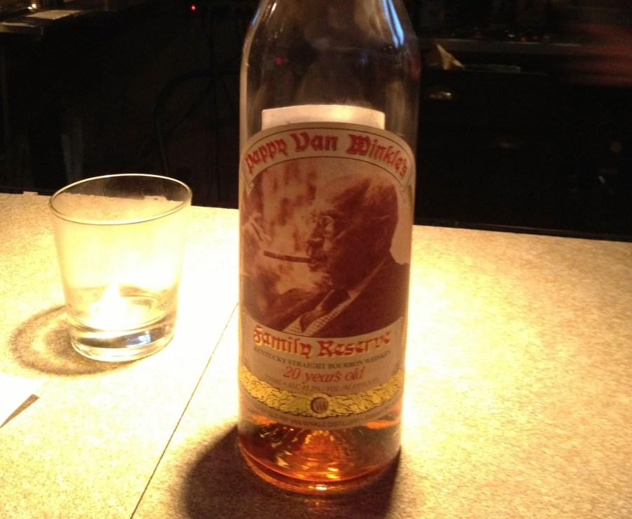 Papppy Van Winkle 20 Year Bourbon
