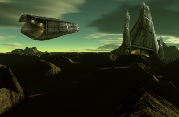 Alien Outpost Movie HD Wallpaper