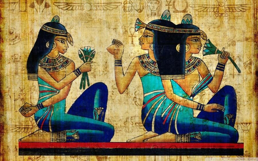 Egyptian Art HD Wallpaper by Wallsev.com