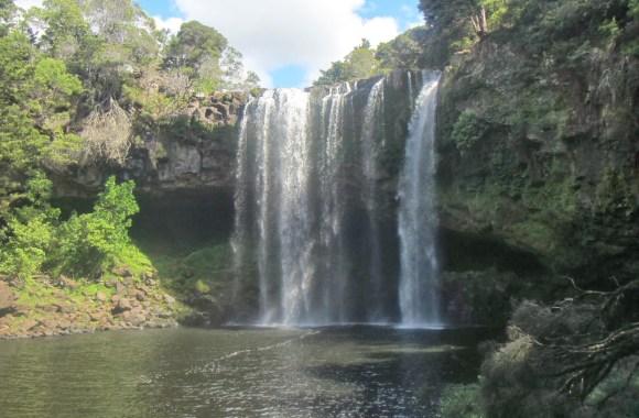 Fairy Falls, New Zealand HD Wallpaper