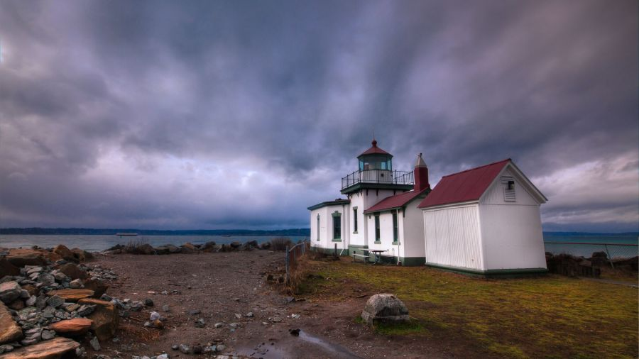 Discovery Park Lighthouse Seatlle HD Wallpaper by Wallsev.com