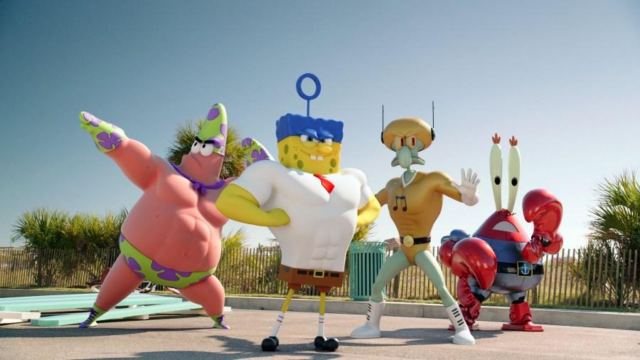 Spongebob: Sponge Out of Water Movie HD Wallpaper by Wallsev.com