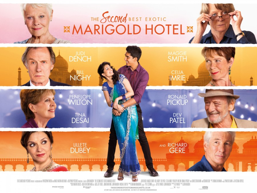 The Second Best Exotic Marigold Hotel Movie HD Wallpaper by Wallsev.com