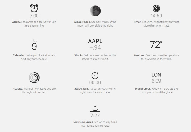 3 More Apple Watch Details Exposed