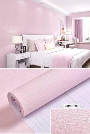 wall plain pink texture background bedroom tv waterproof living dining paper adhesive self stickers rm20 rm12
