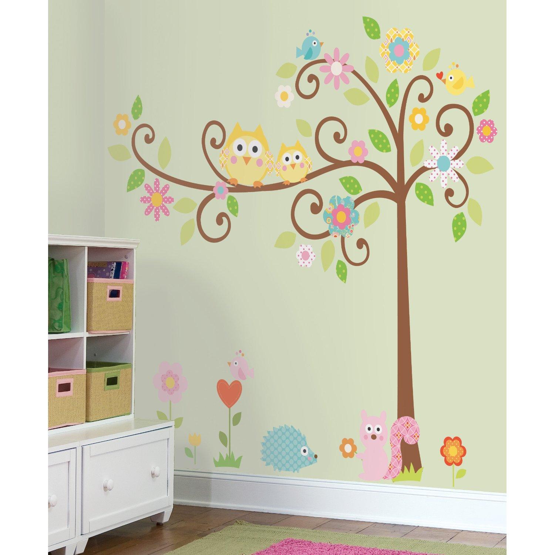 room mates tree wall decal