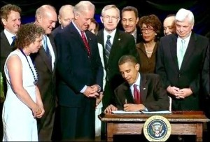 President Obama Signs the Dodd-Frank Wall Street Reform and Consumer Protection Act, July 21, 2010