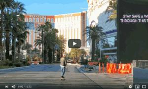 The Las Vegas Strip Virtually Empty – Source – TheTrooper97Vlog (03/31/2020)