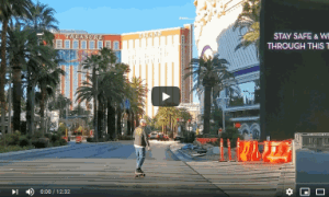 The Las Vegas Strip Virtually Empty – Source – TheTrooper97Vlog (03/31/2020)