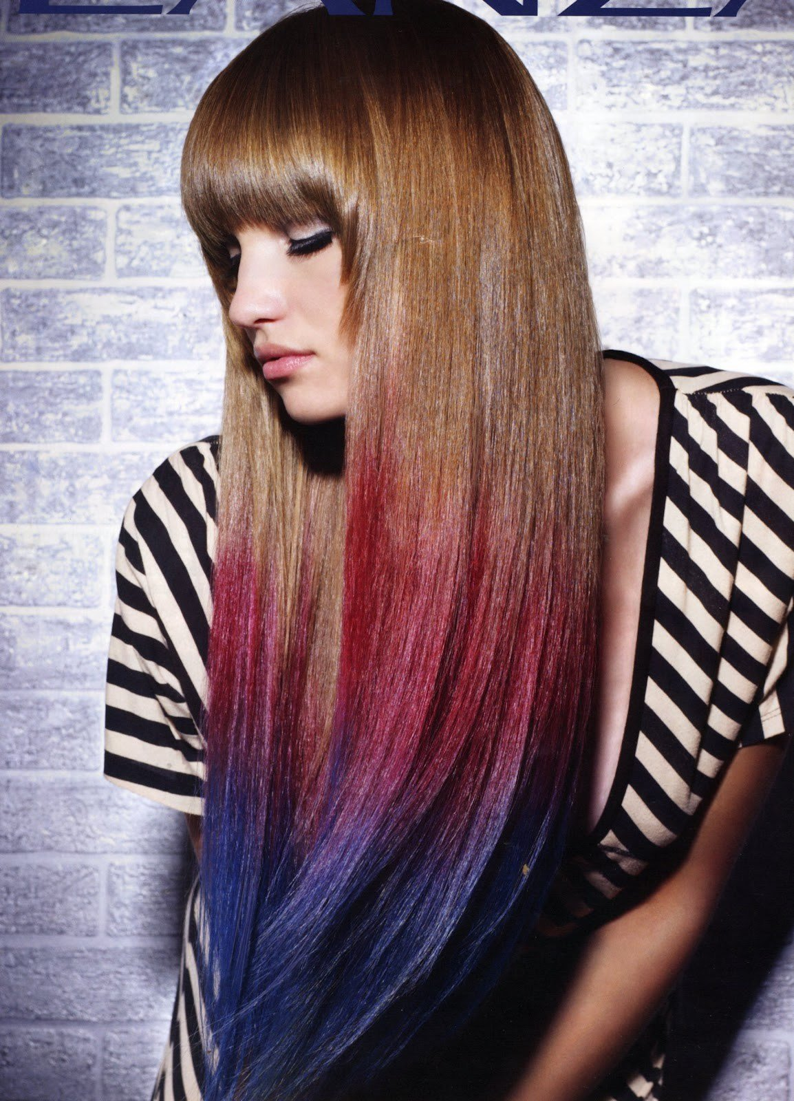 New How To Use Colored Hair Chalks Tips And Tricks Ideas With Pictures
