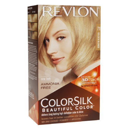 New Colorsilk By Revlon Ammonia Free Permanent Haircolor Golden Blonde 71 1 Ea Myotcstore Com Ideas With Pictures