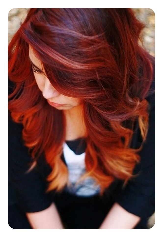 New 72 Stunning Red Hair Color Ideas With Highlights Ideas With Pictures