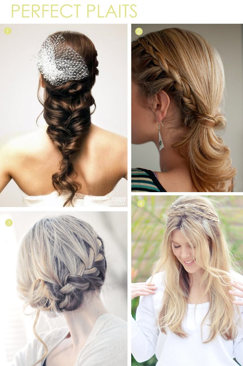 New Beauty Braid Hairstyles Exquisite Weddings Ideas With Pictures