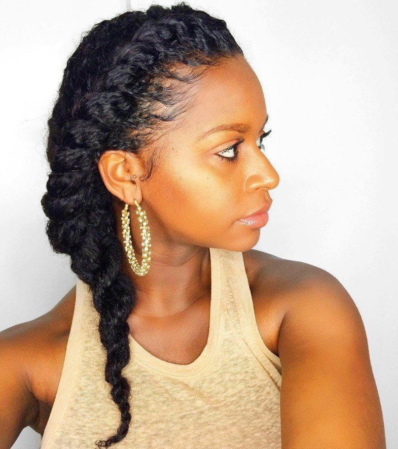 New 7 Two Strand Twist Styles That Are Giving Us Natural Hair Ideas With Pictures