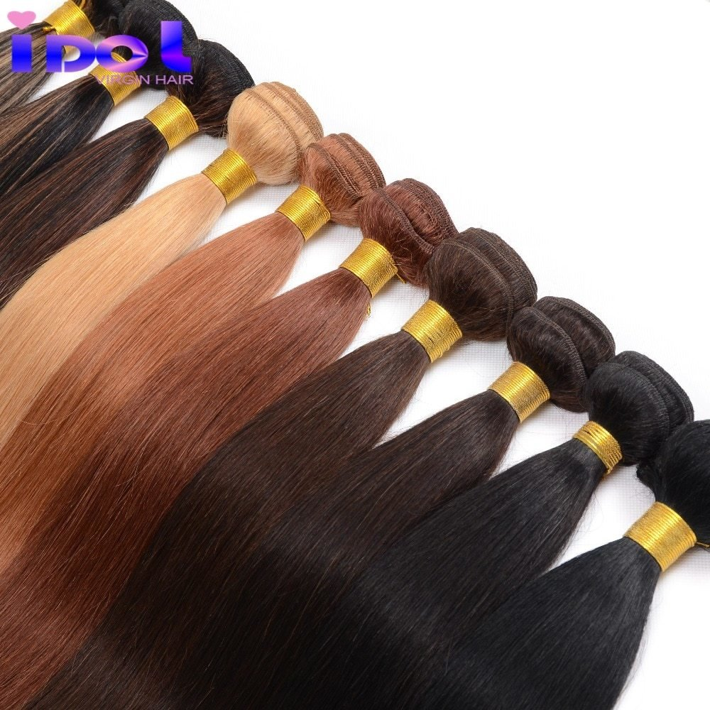 New Brazilian V*Rg*N Hair 2 Bundles 7A Yaki Human Hair Ideas With Pictures