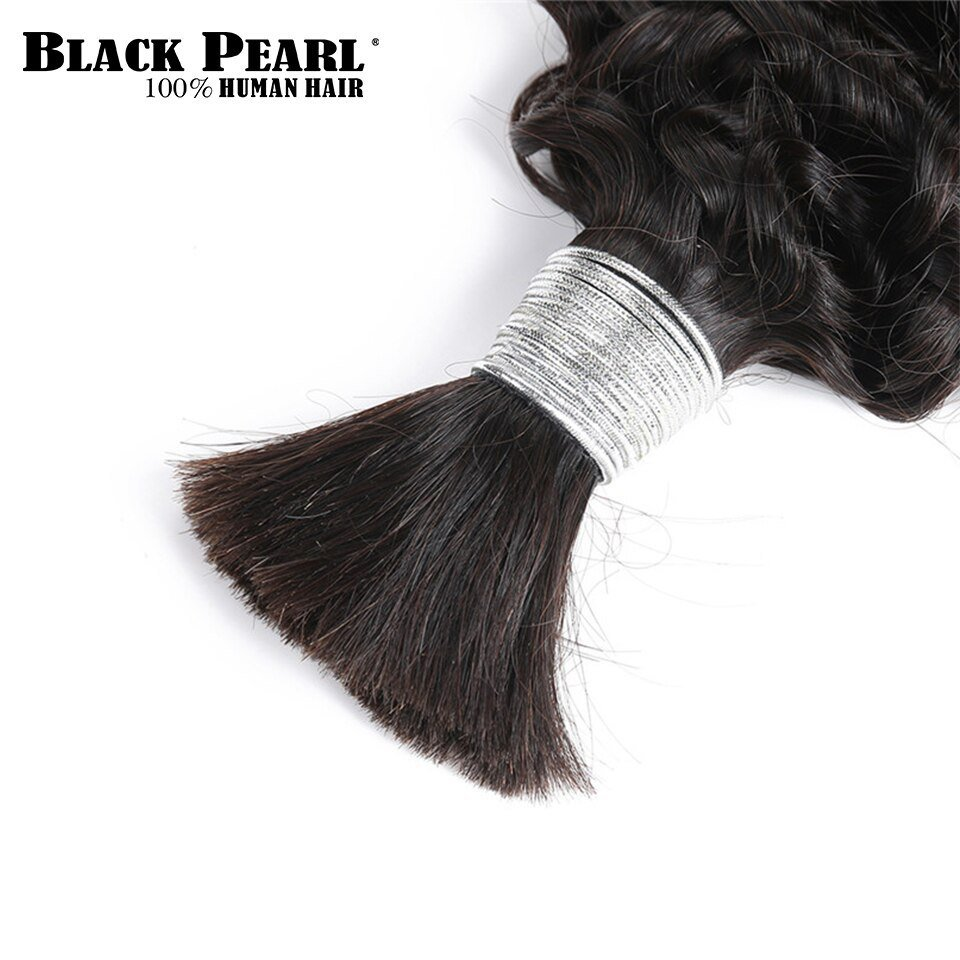 New Black Pearl Pre Colored Brazilian Curly Hair Bundles Remy Ideas With Pictures