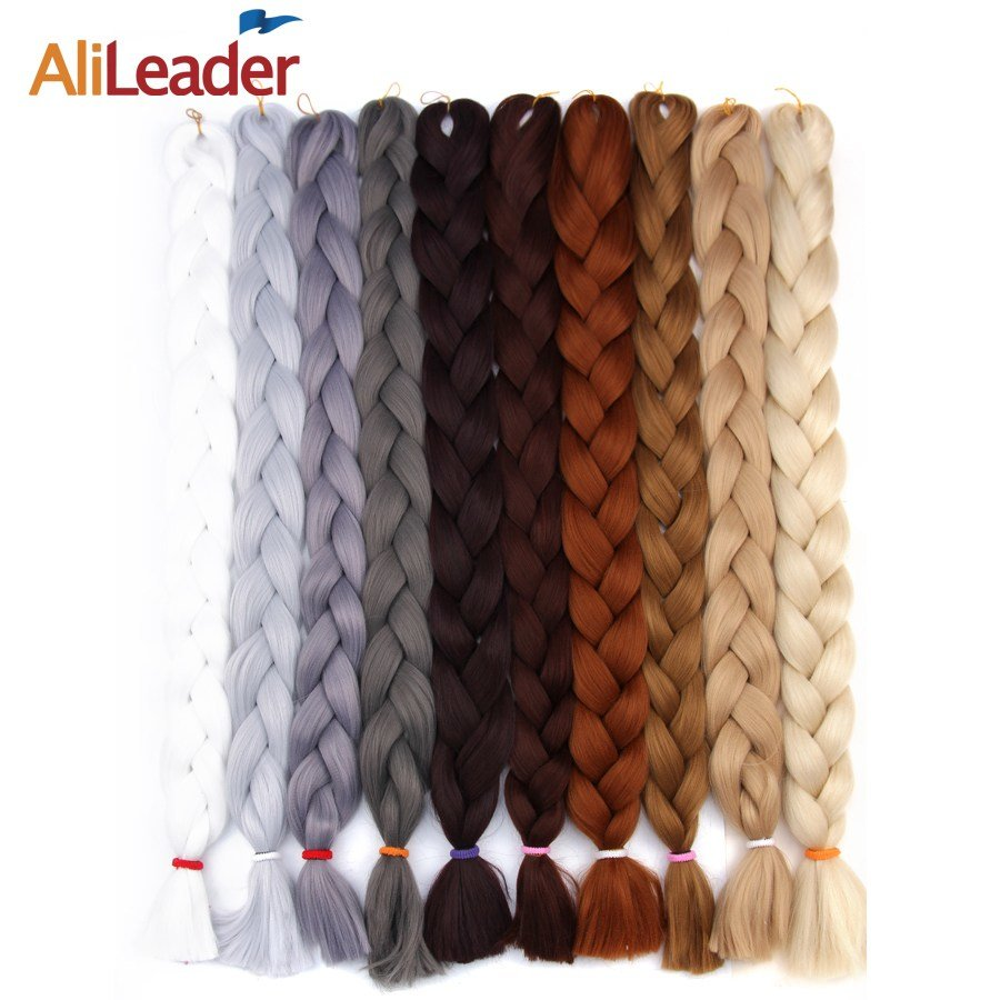 New Alileader Kanekalon Jumbo Braids Hair Colors Black Light Ideas With Pictures