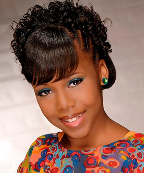 New Natural Hairstyles For African American Women And Girls Ideas With Pictures
