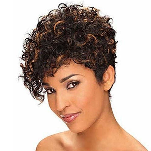 New Short Natural Curly Hairstyles For Black Women 2018 2019 Ideas With Pictures