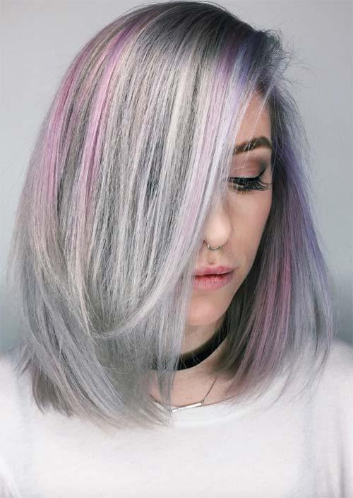 New Silver Hair Trend 51 Cool Grey Hair Colors Tips For Ideas With Pictures