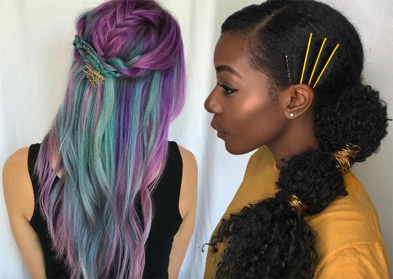 New 41 Exposed Bobby Pin Hairstyles How To Use Bobby Pins Ideas With Pictures